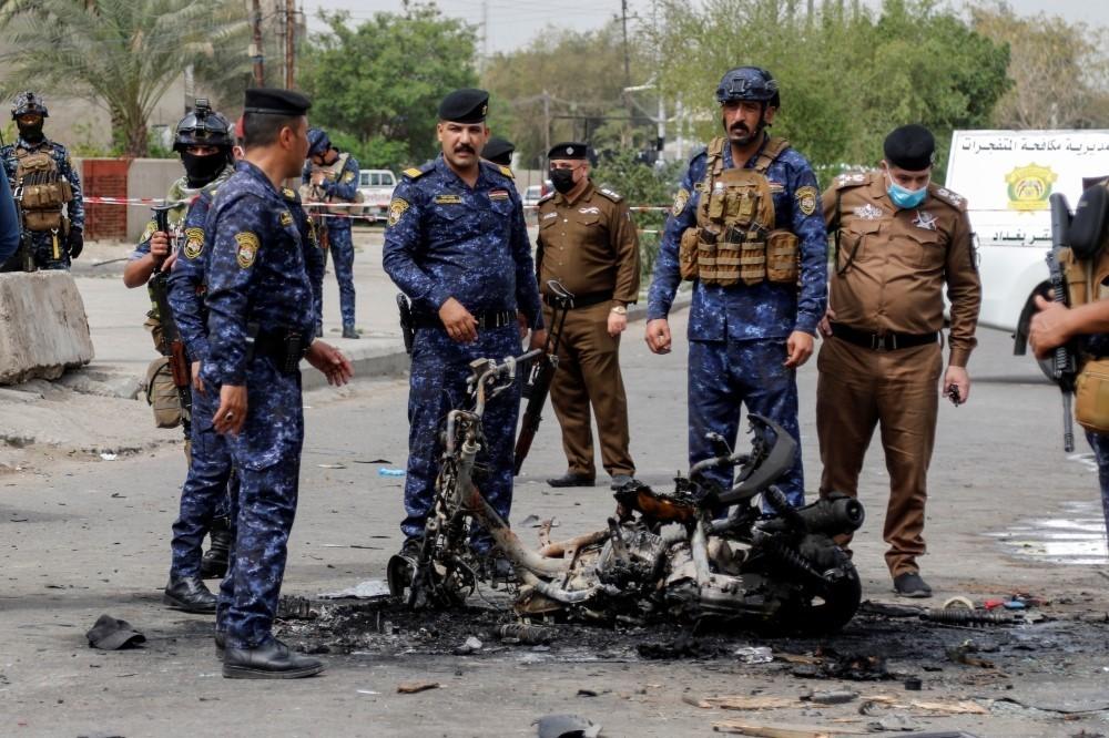 انفجار دراجة يؤدي لمقتل صاحبها ومرافقه بالمشتل وسط بغداد