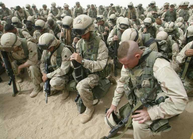 لمن يسأل كيف احتل 81 دولة العراق ؟هذا ما جرى باليوم الثاني من الغزو الامريكي