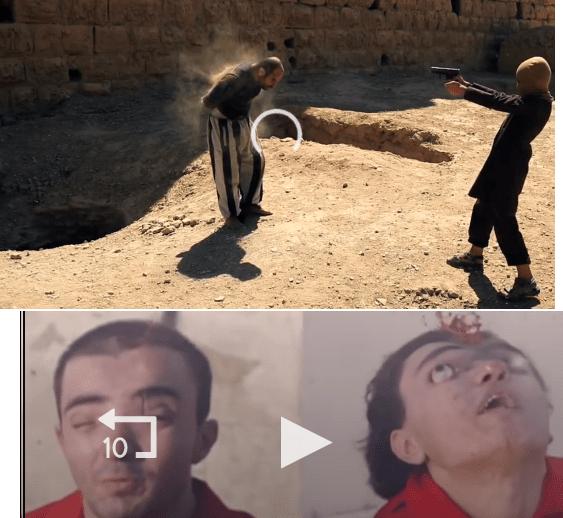 داعش الارهابي يبث فيديو عن طرق اعدامه المختلفة على كوكل الامريكي