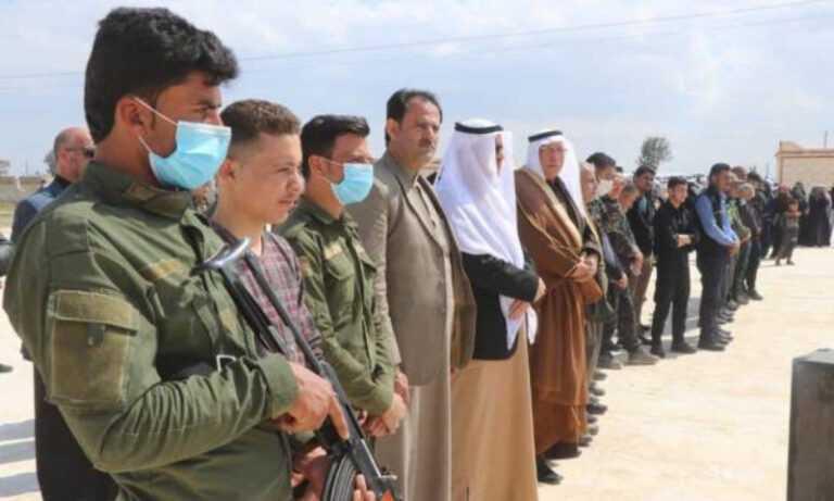 داعش الارهابي يعلن مقتل وجرح انثيين من قوات قسد السورية