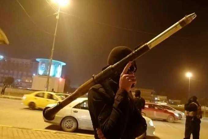 انتشار لجيش المهدي بمدينة صدام وبالفيديو