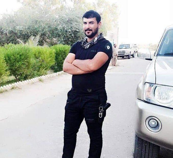 احدهم منتظر داود الزهيري من الفوج الثاني لواء 23 فيلق بدر سقوط قتيلين بقناص داعش بخانقين
