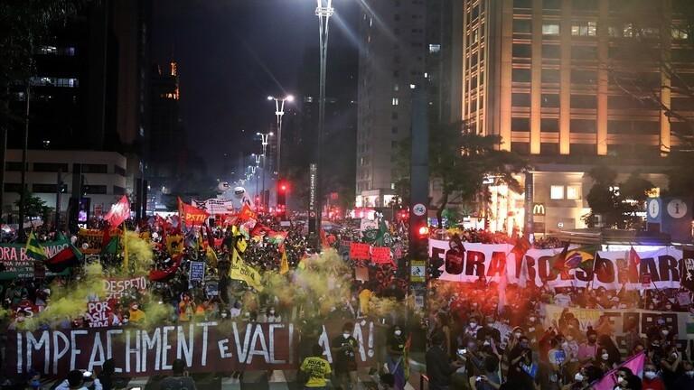 مسيرة مناهضة لرئيس البرازيل الاحد