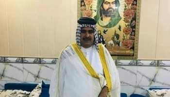اعدام شبخ عشيرة نوري المالكي بالعمارة