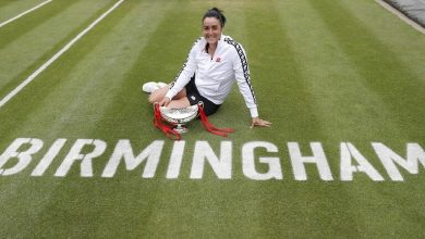 صورة أول عربية تحرز لقبا في بطولة رابطة محترفات التنس