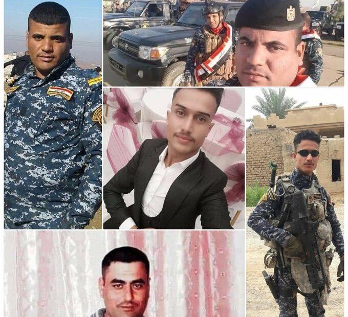القبض على قائد الفرقة الخامسة وامر لواء العشرين وامري الافواج بسبب مقتل 8 من الشرطة في هجوم داعش الارهابي في كركوك امس