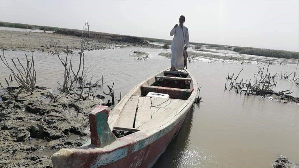 بدء نزوح سكان محافظة عراقية بسبب نقص المياه والجفاف