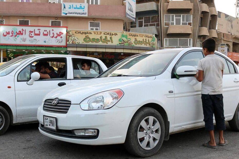 بعد 13 سنة من القضاء على التكتاتور الكافر الضالم المجادية ينتشرون في العراق شارع شارع زنقة زنقة