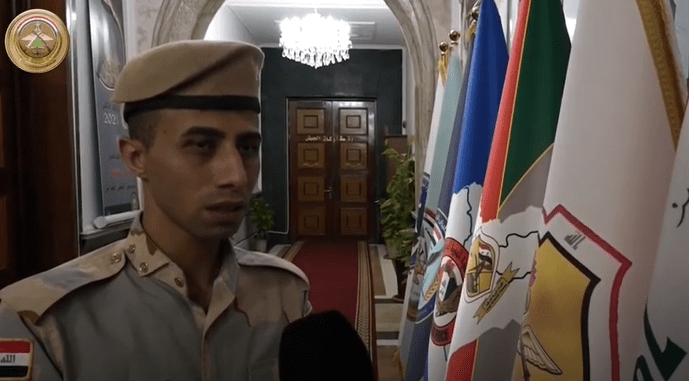 ترقيته من جندي اول الى نائب عريف من قبل يار الله