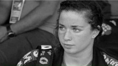 صورة وفاة سباحة جزائرية شابة اثناء التدريبات