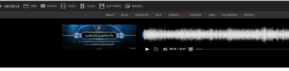 بمناسبة اجتماع التحالف الدولي الذي يضم 83 دولة داعش الارهابي يبث على كوكل الامريكي كلمة للمتحدث الرسمي مدتها 37.41 دقيقة كسروا السجون!!!!