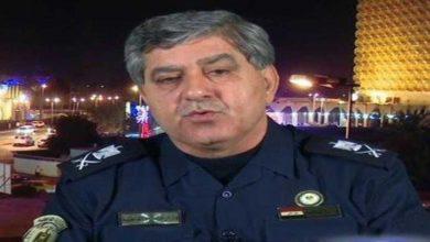 صورة العميد عاشور مناتي مديرا لانتربول العراق بدل صادق فرج