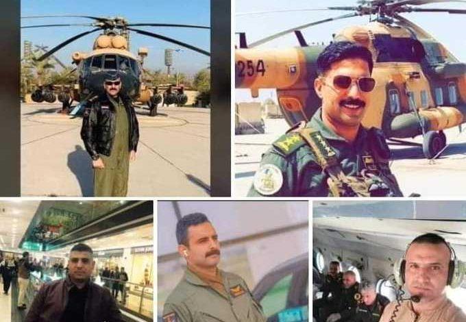 صورة انباء عن براءة داعش من قتلهم الحشد التركماني التابع لفيلق بدر اسقط الهليكوبتر بصاروخ في امرلي بطوز خرماتو