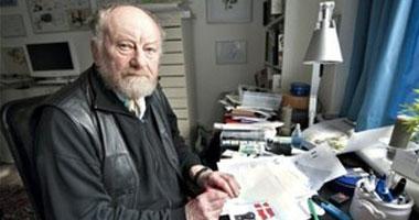 صورة وفاة رسام الكاريكتير الدنماركي #كورث_فيسترجارد