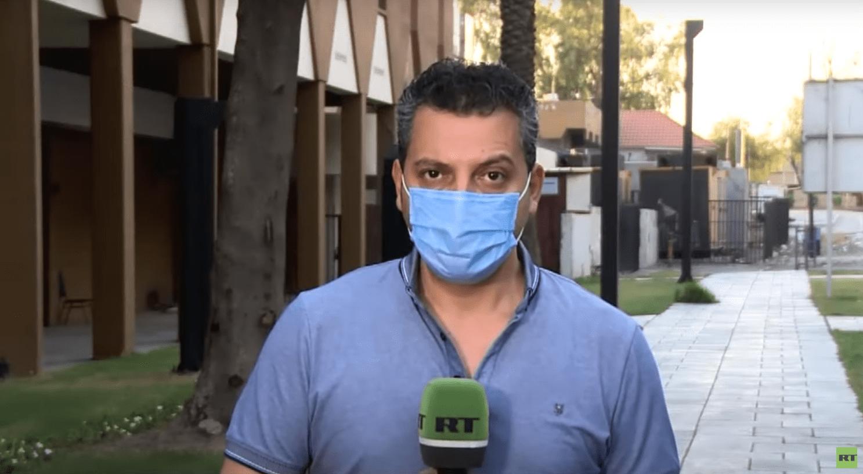 اعتقال مراسل RT اشرف العزاوي في بغداد