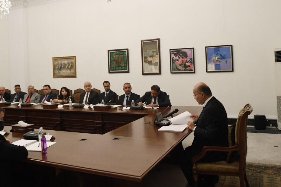 صالح يقدم مشروع قانون العقوبات بدلا من قانون صدام