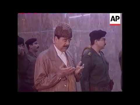 صورة رغد صدام تنشر فيديو لأبيها يسأل الامام الحسين: هل أوفينا بالعهد والنسب