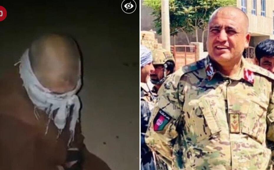 اعدام قائد شرطة قاتل طالبان