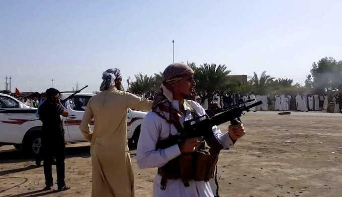 بالهاونات مقتل شخصين بالعكيكة والكاظمي يوافق على استخدام أف 16 بفض النزاع بين عشيرتي الزرگان وال شميس