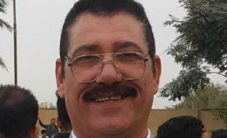 صورة ابن يقتل اباه الصحفي حميد الجميلي بالدجيل شمال بعداد رميا بالرصاص