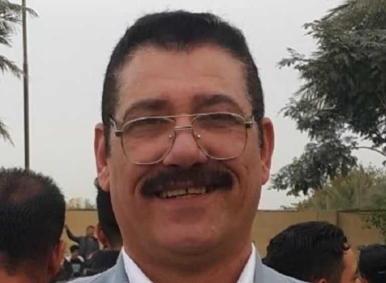 ابن يقتل اباه الصحفي حميد الجميلي بالدجيل شمال بعداد رميا بالرصاص