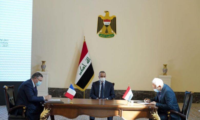 صورة اليوم توقيع اتفاق بين العراق وشركة فرنسية