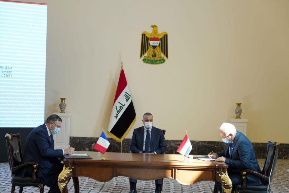 اليوم توقيع اتفاق بين العراق وشركة فرنسية