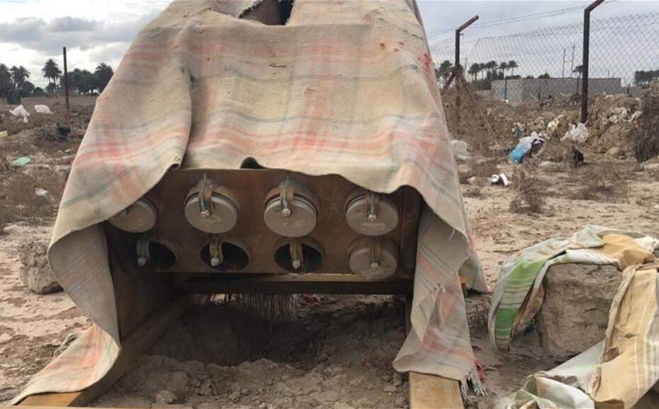 انفجار منصة لإطلاق الصواريخ في جنوب بغداد