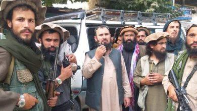 """صورة فصيح دين) الملقب بـ """"فاتح الشمال"""" حي وفي كامل صحته وطالبان تحرر افغانستان بالكامل"""