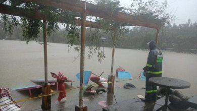 صورة إعصار #كومباسو في الفلبين إلى 30 شخصا